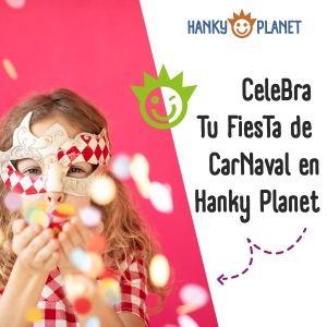celebra tu fiesta de carnaval en hanky planet